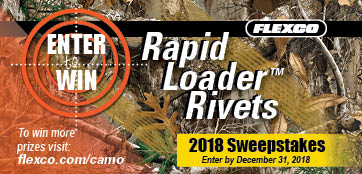 2018 Rapid Loader™ Rivets Sweepstakes!