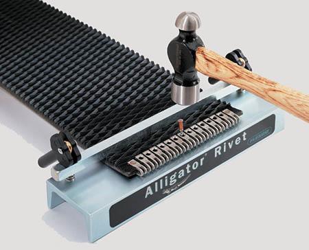 alligator rivet fastening system